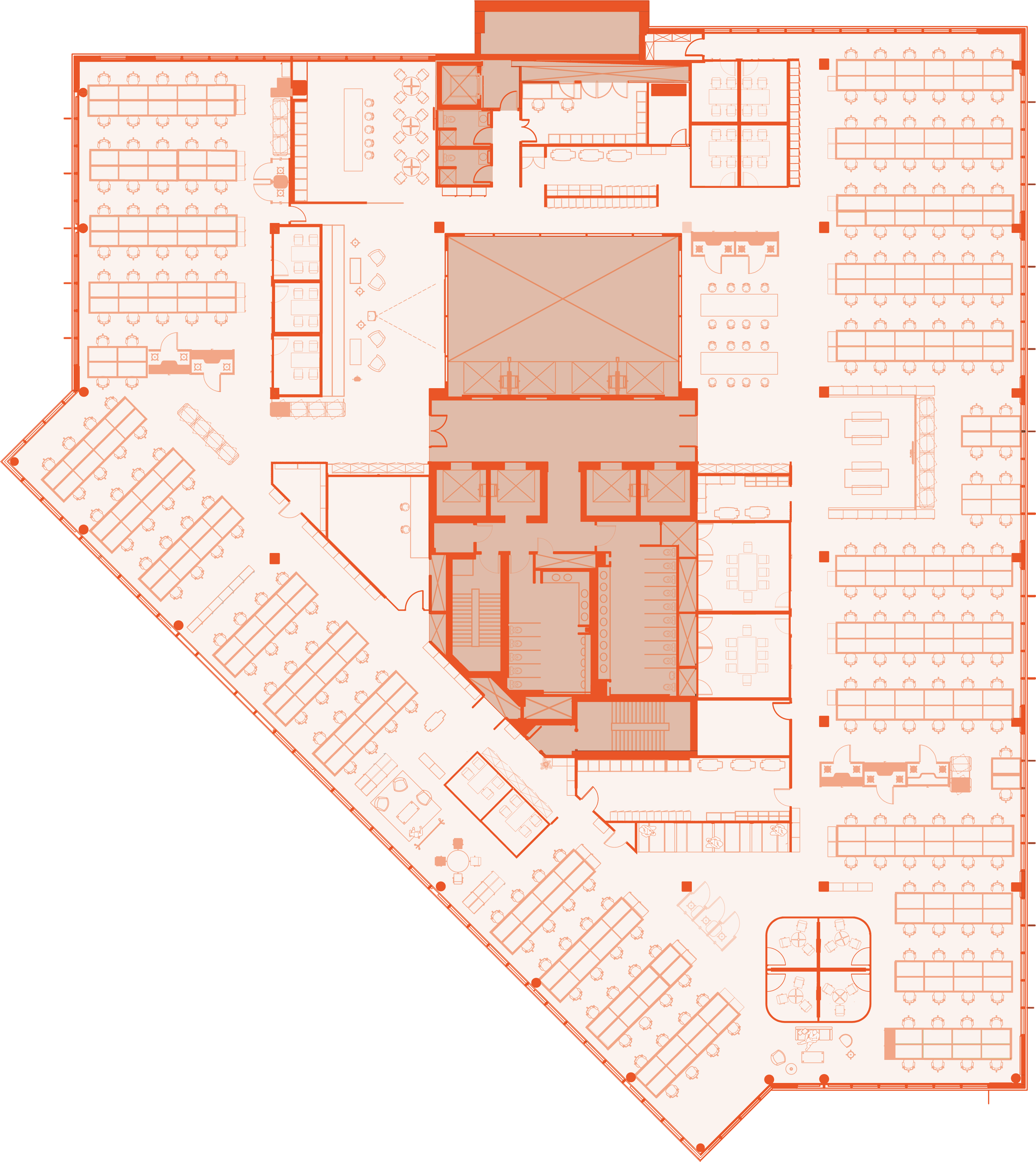 No 3 Forbury Place - 8th Floor Plan